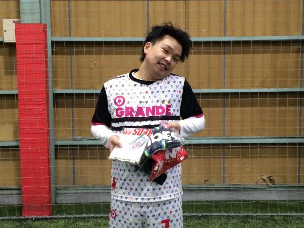 MVP 林寛太さん・GRANDE